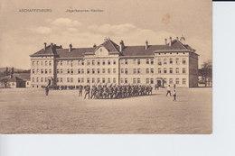 Ak Aschaffenburg, Jägerkaserne-Neubau, 1915 - Aschaffenburg