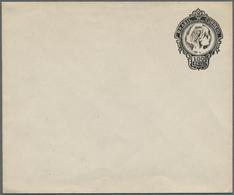Brasilien - Ganzsachen: 1920: 100 R, Postal Stationery Envelope, Type II Without Return Address Line - Postwaardestukken