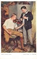 Hans Temple Pinx  Viool Instrument Meine Söhne . Mes Fils   Salon Viennois Galerie Wiener Kûnstler  Barry 4902 - Pittura & Quadri