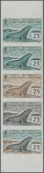 Französische Gebiete In Der Antarktis: 1960, 25fr. Antarctic Fur Seal, Imperforate Colour Proof, Mar - Französische Süd- Und Antarktisgebiete (TAAF)