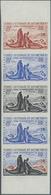 Französische Gebiete In Der Antarktis: 1962, 8fr. Southern Elephant Seal, Imperforate Colour Proof, - Französische Süd- Und Antarktisgebiete (TAAF)
