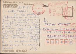 3462  Postal Rio De Janeiro 1988, Rio Othon Palace Hotel. - Brazilië