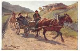 Jul Von Blaas    Pinx   Sonntag Dimanche   Salon Viennois Galerie Wiener Kûnstler  Barry 4908 - Pintura & Cuadros