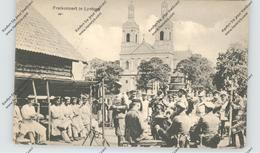 BELARUS / WEISSRUSSLAND - LYNTUPY / LINTUPI, Freikonzert, 1918, Deutsche Feldpost - Weißrussland