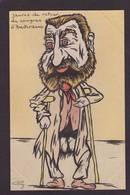 CPA JAURES Satirique Caricature Non Circulé Politique Dessin Original Fait Main Amsterdam - Satirical