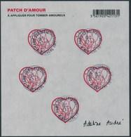 France - St-Valentin 2012 Adeline André / Le Feuillet YT F648A Obl. Cachet Rond Manuel - France