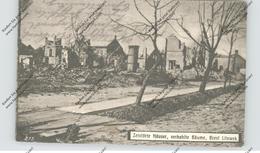 BELARUS / WEISSRUSSLAND - BREST LITOWSK, 1.Weltkrieg, Zerstörte Häuser - Weißrussland