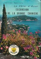 La Côte D'Azur : Excursion De La Grande Corniche (+ Voitures Années 60) - 12 Photos Couleur En Accordéon - Other Collections