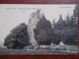39 - ARLAY - Ruines De L' Ancien Château. (Rare) - Autres Communes