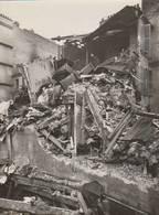 RARISSIME -  2 Grandes Photos Paris-4ième - Bombardement De 1918 -  Maison Passage Charlemagne (Emile Menanteau)- 4 Scan - Guerre, Militaire