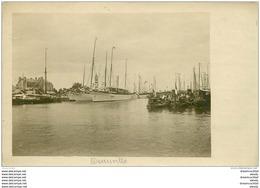 14 DEAUVILLE. Les Yachts Et Torpilleurs Au Port. Prototype Pour Futures Cartes Postales... - Deauville