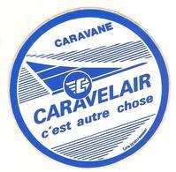 AUTOCOLLANT CARAVANE CARAVELAIR - Stickers