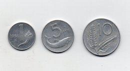 Italia - 1951 - 1 -5 -10 Lire -  (Vedi Foto) - (MW2725) - Other