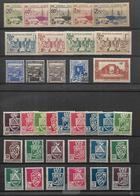 Algérie 1939  - 1944       Cat Yt N° 153  à  208 ( 158 Et 158 A )      N**  MNH, - Nuovi