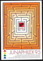 "Svizzera/Switzerland/Suisse: Intero, Stationery, Entier, ""Junaphilex '95"" - Esposizioni Filateliche"