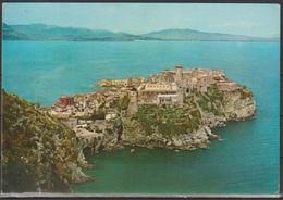 Cartolina - Gaeta - Castello Angioino Nello Sfondo Formia E Mondragone - Latina