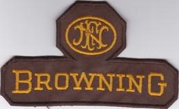 Ecusson Tissu Browning 14,5 X 8,5 Cm  - Arme - Tir - Chasse - Stoffabzeichen