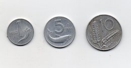Italia - 1952 - 1 -5 -10 Lire -  (Vedi Foto) - (MW2726) - Other