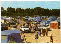 Autos Voitures Automobiles Cars - Camping Peugeot 404 Daf Daffodil Simca P60 Renault 8 R8 Simca 1500 R4 4L DS Etc - Turismo