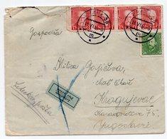 18.06.1934. CZECHOSLOVAKIA, PRAHA TO KRAGUJEVAC, SERBIA, AIR MAIL - Czechoslovakia