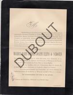 Doodsbrief Maurice ULLENS De SCHOOTEN °1842 Schoten †1894 Château De Elsdonck, Wilrijk (H202) - Overlijden