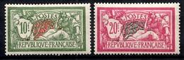 France Merson YT N° 207/208 Neufs *. Gomme D'origine. B/TB. A Saisir! - France