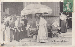 Paris : Petits Métiers , La Marchande De Lessive  ( état Moyen )    ////   JANV. 20 ///  N° 10344 - Artigianato Di Parigi
