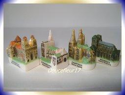Cathédrales De France .. 4 Fèves ... Ref. AFF : 92-2003... (0024) - Région