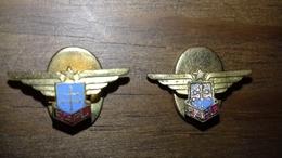 2 Insignes De Boutonnière FAFL - Aviation