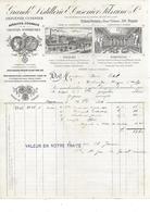 25.ORNANS .- Grande Distillerie E. Cusnier Fils Ainé - Levensmiddelen