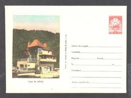 Rumänien Romania Stationery Cover 1955 Unused Very Rare- 218     Casa De Odinha -3 - Ganzsachen