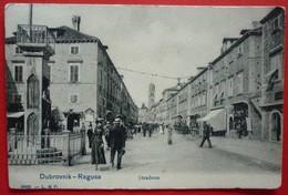 DUBROVNIK - RAGUSA , STRADONE - STRADUN , LEDERER & POPPER 6695 - Croatia