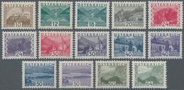 Österreich: 1932, Freimarken: Landschaften Im Kleinformat, Komplette Postfrische Serie Von 14 Werten - 1850-1918 Imperium