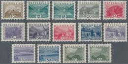 Österreich: 1932, Freimarken Landschaften Im Kleinen Format, Kompletter Tadellos Postfrischer Satz V - 1850-1918 Imperium