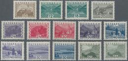 Österreich: 1932, Freimarken Landschaften Im Kleinformat, Tadelloser Postfrischer Satz (Mi. 1000 €) - 1850-1918 Imperium