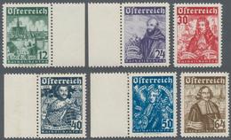 Österreich: 1933, Katholikentag 6 Werte Komplett Einwandfrei Postfrisch, Dabei Vier Randstücke, Mi€ - 1850-1918 Imperium