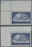 Österreich: 1933, WIPA Faserpapier 50+50 Gr., Beide Werte, Sowohl Aus Bogen Als Auch Aus Block Jewei - 1850-1918 Imperium