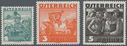 Österreich: 1934, Trachtenserie 21 Werte Komplett Einwandfrei Postfrisch, Mi€ 300,- - 1850-1918 Imperium