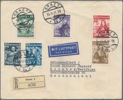 Österreich: 1933, Katholikentag, Vollständiger Satz Mit Tagesstempel GRAZ 1 / 13.XI.33 Auf Portorich - 1850-1918 Imperium