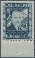 Österreich: 1936, Dollfuß 10 Schilling, Sauber Gezähntes, Einwandfrei Postfrisches Qualitätsstück Vo - 1850-1918 Imperium