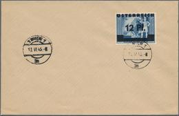 """Österreich: 1945, 2. Wiener Aushilfsausgabe, Marken Des Deutschen Reiches Mit Aufdruck """"Österreich"""" - 1850-1918 Imperium"""