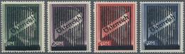 Österreich: 1945, Gitteraufdruck, 1 RM Bis 5 RM Gez. 14, Vier Werte Komplett, Dabei 3 RM Und 5 RM Mi - 1850-1918 Imperium