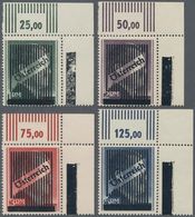 Österreich: 1945, 1 RM - 5 RM 'Wiener Aushilfsausgabe', Gezähnt K 14, Alle 4 Werte Einheitlich Aus D - 1850-1918 Imperium