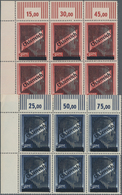 Österreich: 1945, III. Wiener Aushilfsausgabe NICHT ZUR AUSGABE Gelangte Markwerte Kompletter Satz V - 1850-1918 Imperium