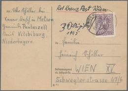 Österreich: 1945, 29. August, Karte Geschrieben In Metzen/Gemeinde Pauluszell/Post Vilsbiburg/Nieder - 1850-1918 Imperium