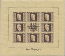 Österreich: 1946, Renner-Kleinbogensatz Komplett Postfrisch, Mi. 2400.- - 1850-1918 Imperium