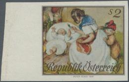 Österreich: 1967, Muttertag 2 S. UNGEZÄHNT Auf Weißen Gummierten Papier (etwas Bügig) Vom Linken Bog - 1850-1918 Imperium