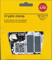 Österreich: 2019, Die Erste Crypto-Marken Der Welt. Satz Bestehend Aus 4 Karten: Schwarz, Gelb, Grün - 1850-1918 Imperium