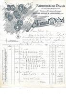 25.- MAISON DU BOIS - ARMAND MICHEL .- Fabrique De Faulx - Ambachten