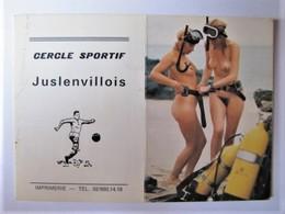 CALENDRIER PETIT FORMAT - Pin-ups - 1981 - Calendarios